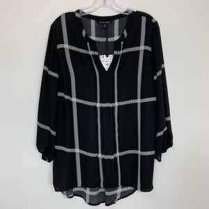 Stitch Fix l 41 Hawthorn Split Neck Blouse